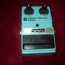 DOD Stereo Chorus FX60 1985 Blue Large Knob sounds awesome ECFX image