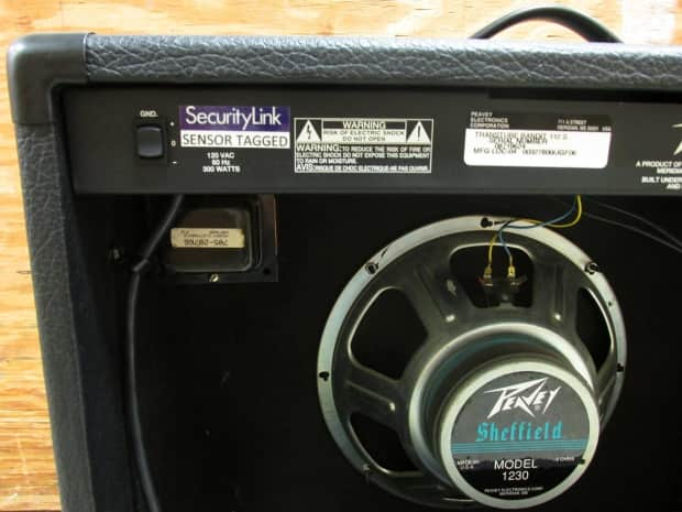 peavey bandit 112 sheffield transtube manual
