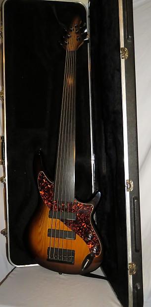aria pro ii avante steve bailey 6 string fretless bass reverb. Black Bedroom Furniture Sets. Home Design Ideas