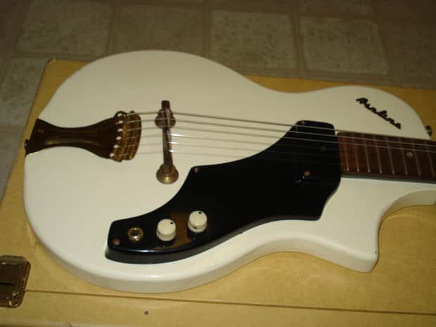 Airline 7214 Guitar W Amp In Blond Case 1960 Reverb