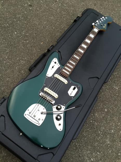 Fender Squier Jaguar Johnny Marr Mods Sperzel Tuners