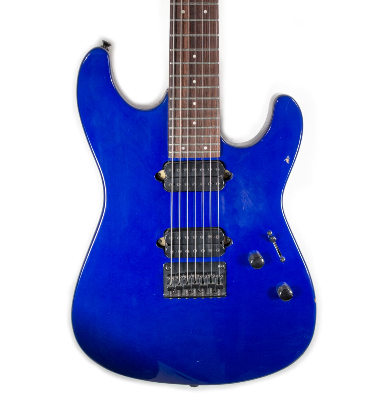 Big Lots Financing >> 2000 Squier Stagemaster-7 (Cobalt Blue Metallic) | Reverb