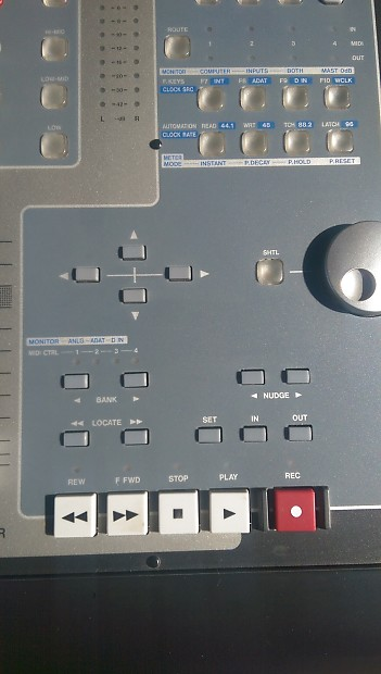Tascam Fw 1884 Firewire Interface Control Surface W