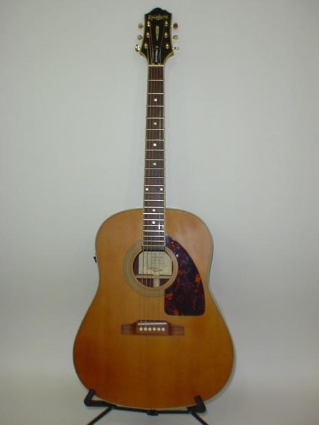 Bill S Auto Sales >> Epiphone AJ-500RE Masterbilt Acoustic Electric Guitar - Natural Satin | Reverb