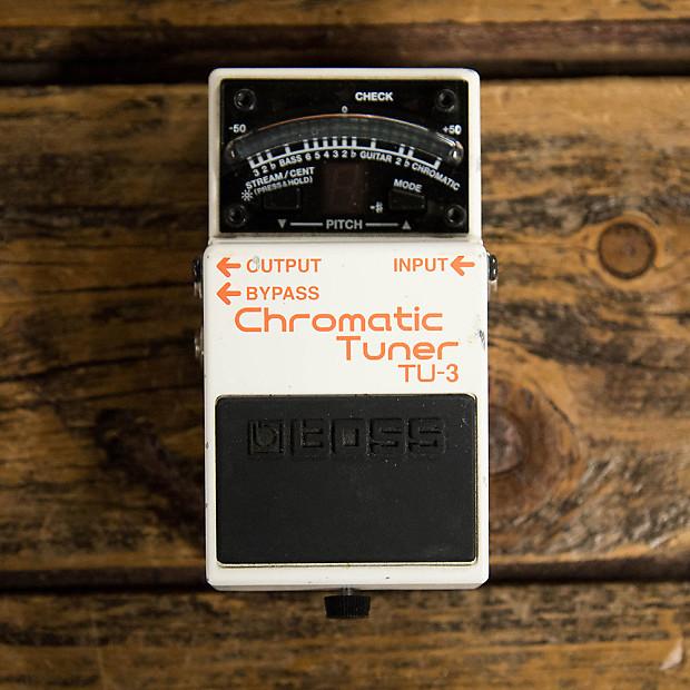 boss chromatic tuner tu 3 manual