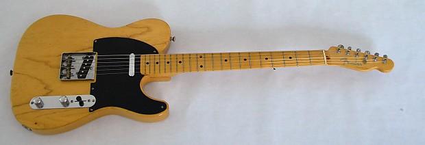 fender telecaster 1951 blonde reissue nocaster specs japan reverb. Black Bedroom Furniture Sets. Home Design Ideas