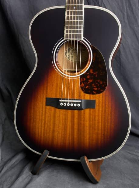 Larrivee Guitars Om 03 Mh Acoustic Guitar Om 03vsb Reverb