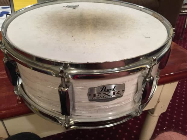 pearl export series snare 2011 pearl white reverb. Black Bedroom Furniture Sets. Home Design Ideas