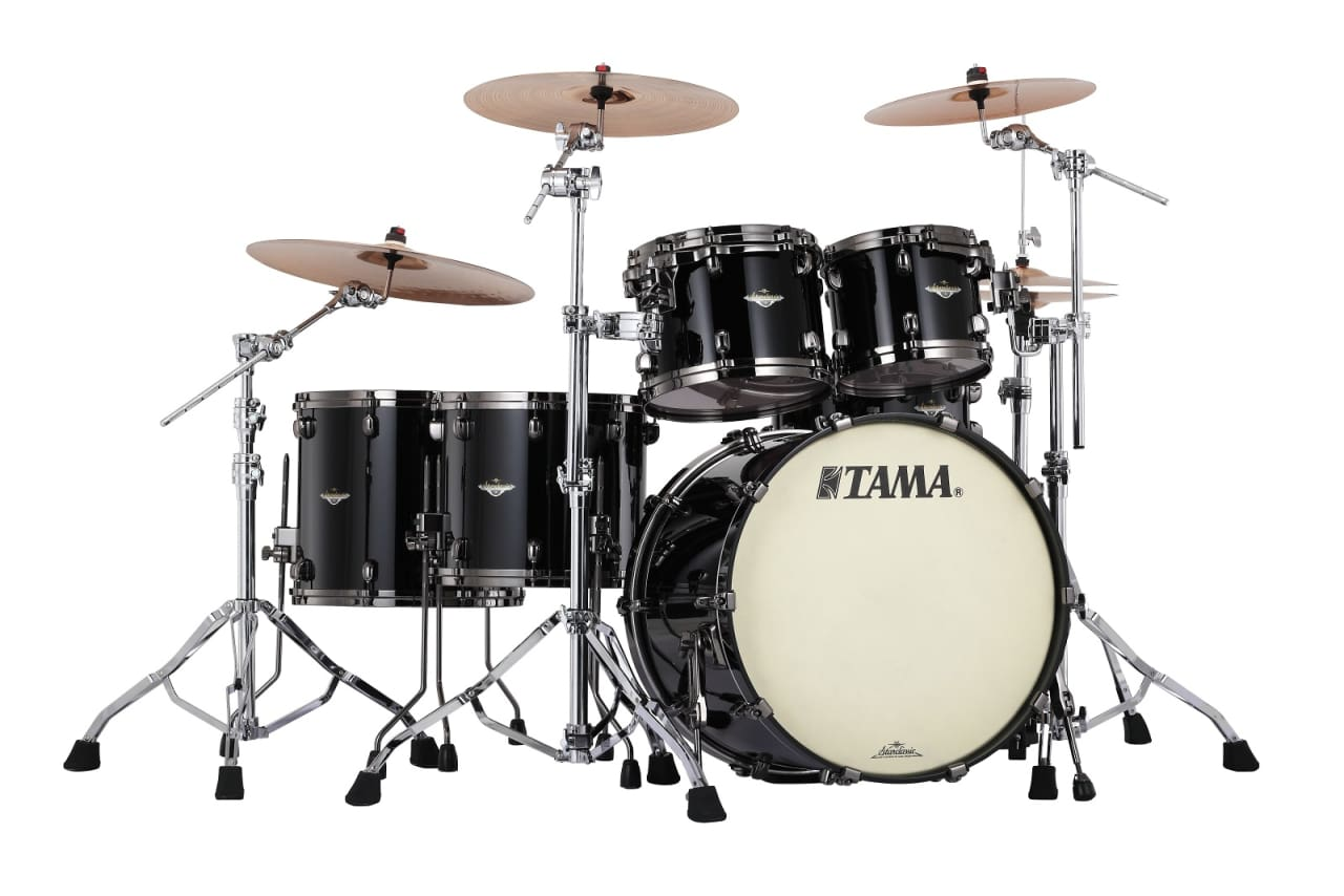 black tama drum set - photo #2