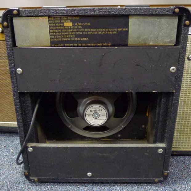 vintage 1980 39 s marshall lead 12 guitar combo amplifier 1x10 reverb. Black Bedroom Furniture Sets. Home Design Ideas