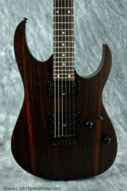 ibanez rg421rw rosewood topped solidbody w wizard iii neck reverb. Black Bedroom Furniture Sets. Home Design Ideas