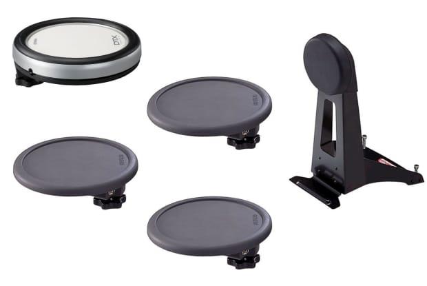 Yamaha dtp520p 2012 black reverb for Yamaha drum pads