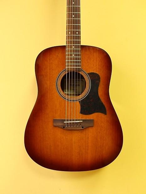 hohner hw300g sb acoustic western guitar reverb. Black Bedroom Furniture Sets. Home Design Ideas