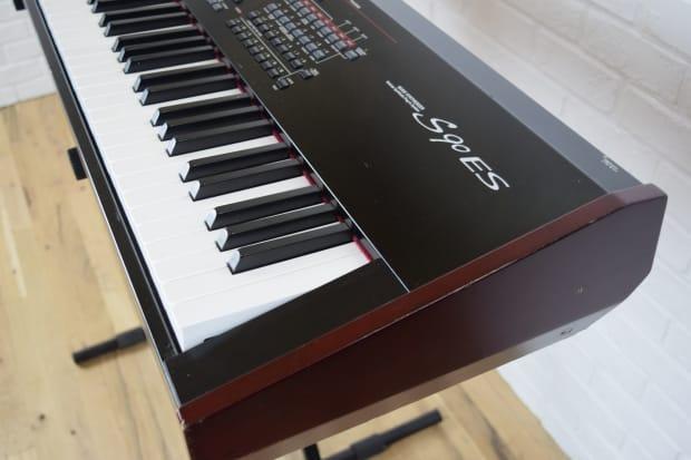 Yamaha s90 es 88 key keyboard synth weighted keys reverb for Yamaha keyboard 88 keys weighted