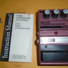 used DOD FX82 Bass Compressor bass effect pedal image