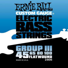 Ernie Ball 2806 Group 3 Flatwound Bass Strings image