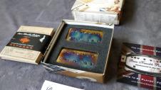 Bare Knuckle Pickups BKP Warpig 7 Strings Calibrated Covered Set Burnt Chrome image