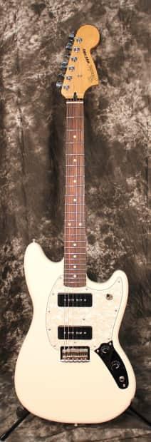 2016 fender mustang 90 electric guitar new model olympic reverb. Black Bedroom Furniture Sets. Home Design Ideas