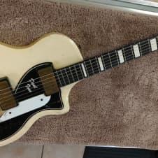 Supro Dual Tone electric guitar No mar White 1959 image