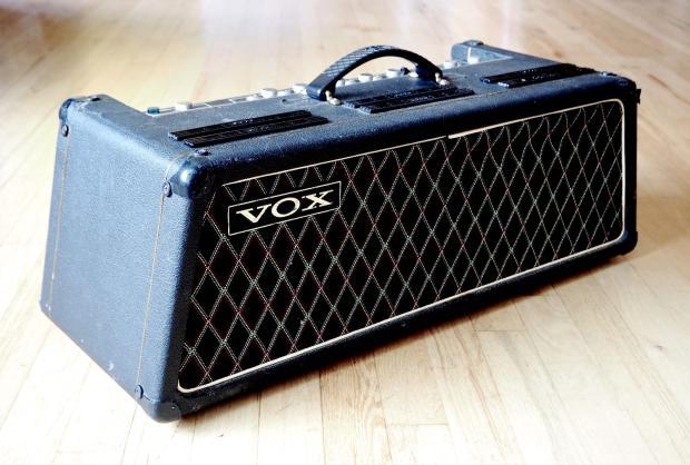 1967 vox beatle super reverb solid state vintage amp head model v1143 usa reverb. Black Bedroom Furniture Sets. Home Design Ideas