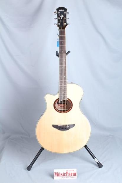 yamaha apx 700 thinline acoustic electric guitar left handed reverb. Black Bedroom Furniture Sets. Home Design Ideas
