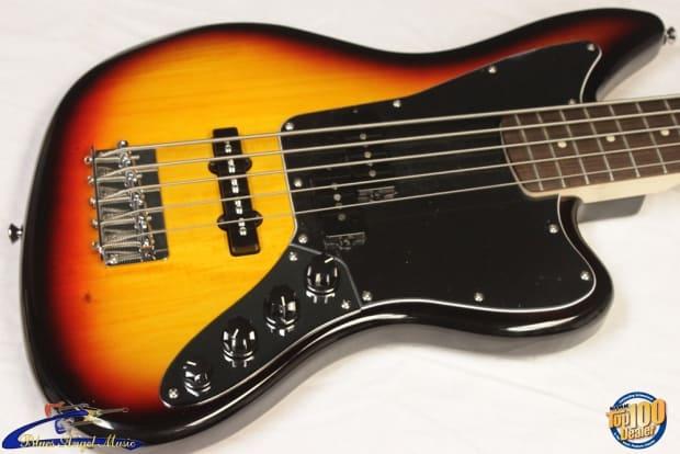 squier vintage modified jaguar bass v special 5 string. Black Bedroom Furniture Sets. Home Design Ideas