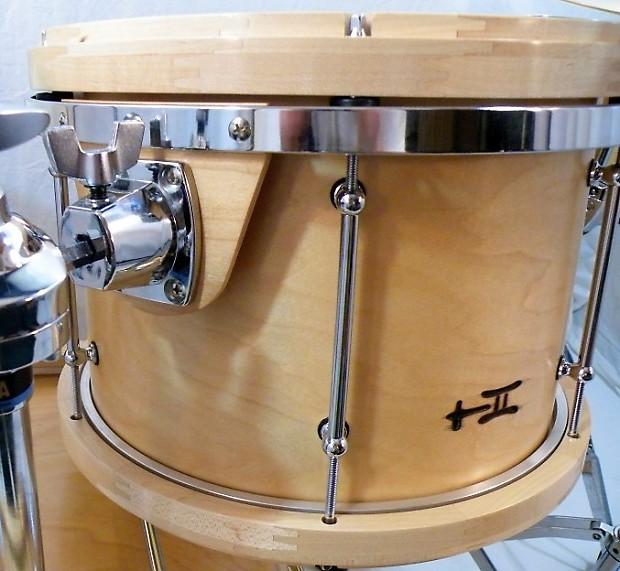 treehouse custom drums 4 piece maple drumset w wood hoops. Black Bedroom Furniture Sets. Home Design Ideas