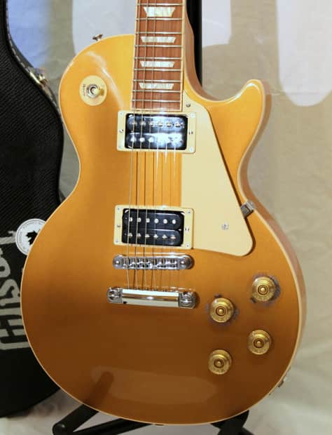 gibson les paul signature t gold top 2013 model unplayed reverb. Black Bedroom Furniture Sets. Home Design Ideas