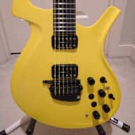 <p>Parker Fly Mojo Midi Taxi Cab Yellow Satin Finish Roland Gk-kit-gt3 Internal Rare</p>  for sale