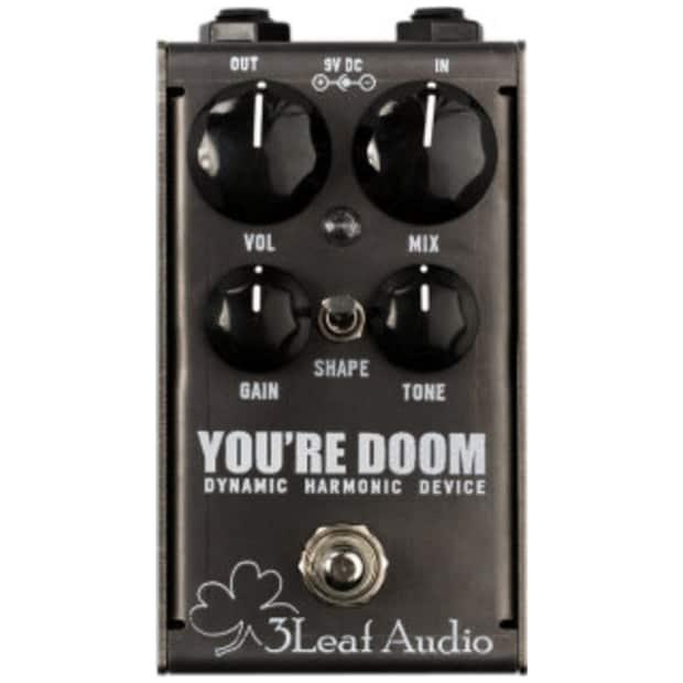 3leaf audio you 39 re doom guitar fuzz effect pedal reverb. Black Bedroom Furniture Sets. Home Design Ideas