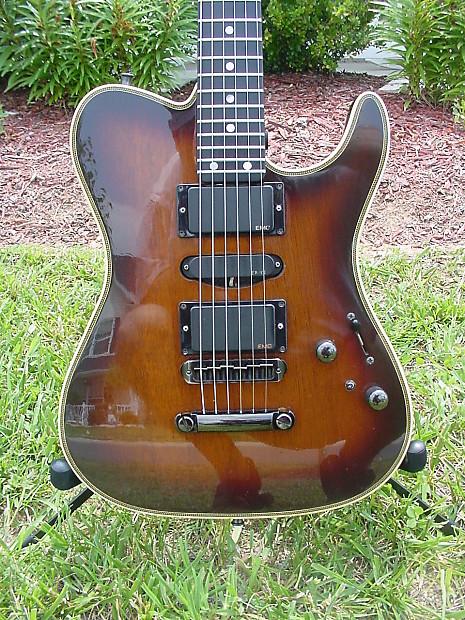valley arts guitars custom pro va0384 3 8 89 brown sunburst reverb. Black Bedroom Furniture Sets. Home Design Ideas