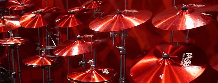 Video: Paiste 900 Series and 900 Color Sound Cymbals at NAMM 2017