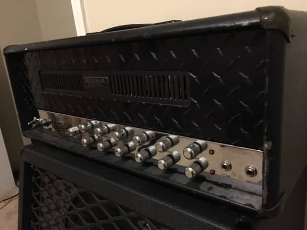 mesa boogie dual rectifier blackface chrome chassis revision reverb. Black Bedroom Furniture Sets. Home Design Ideas