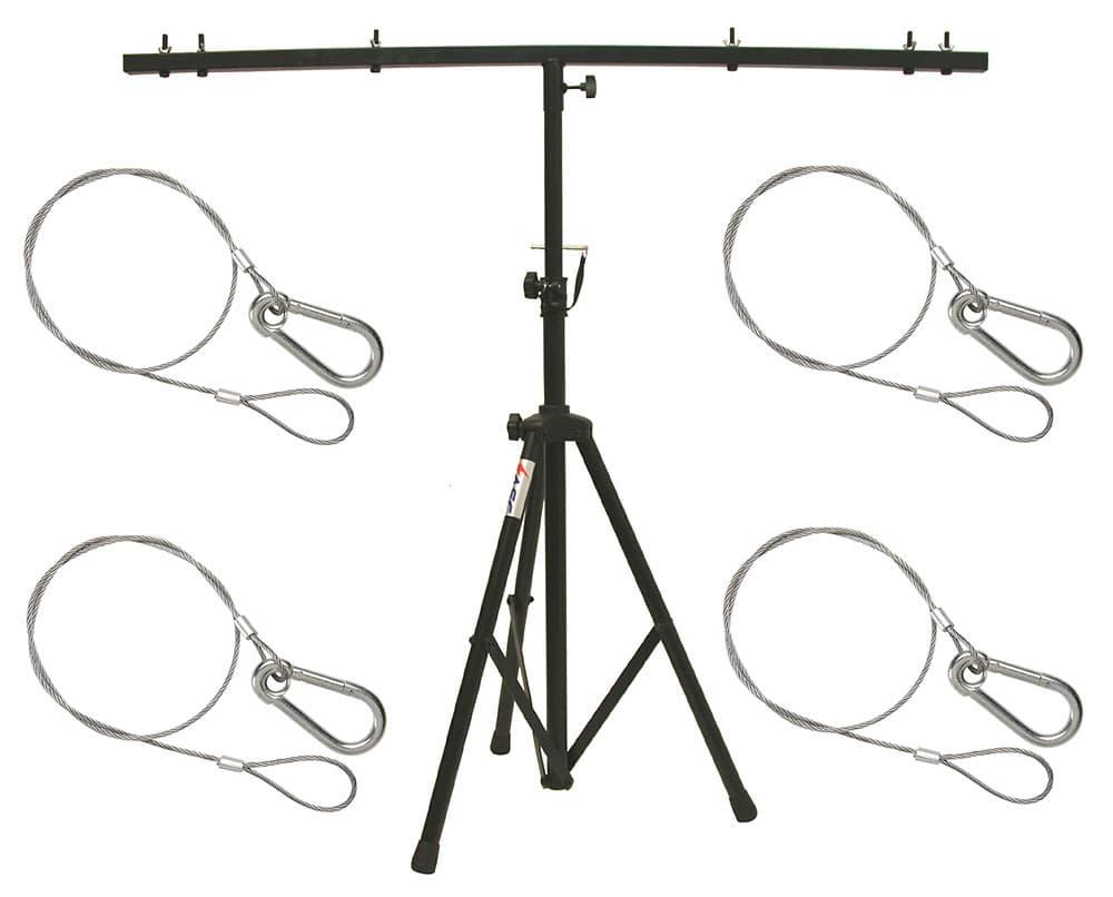 dj pro audio lighting fixture tripod stand  u0026 t