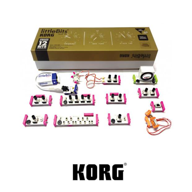 korg littlebits synth kit reverb. Black Bedroom Furniture Sets. Home Design Ideas