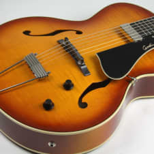 Godin 5th Avenue Jazz Sunburst HG 'Second Factory' w/Tric Case , Free Shipping image