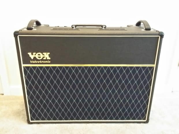 vox ad120vt valvetronix combo amp with vc4 footcontroller reverb. Black Bedroom Furniture Sets. Home Design Ideas