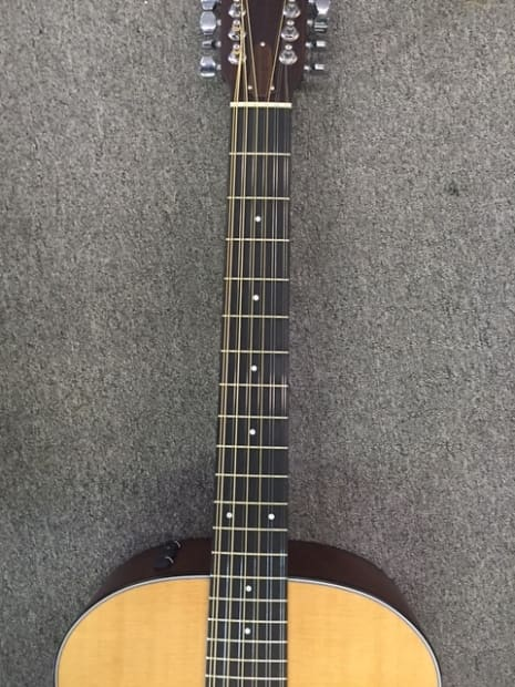 12 String Taylor 354e 2013 Natural All Solid Woods Reverb