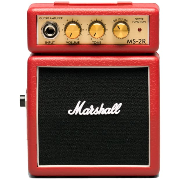 marshall ms 2r mini practice amp red reverb. Black Bedroom Furniture Sets. Home Design Ideas