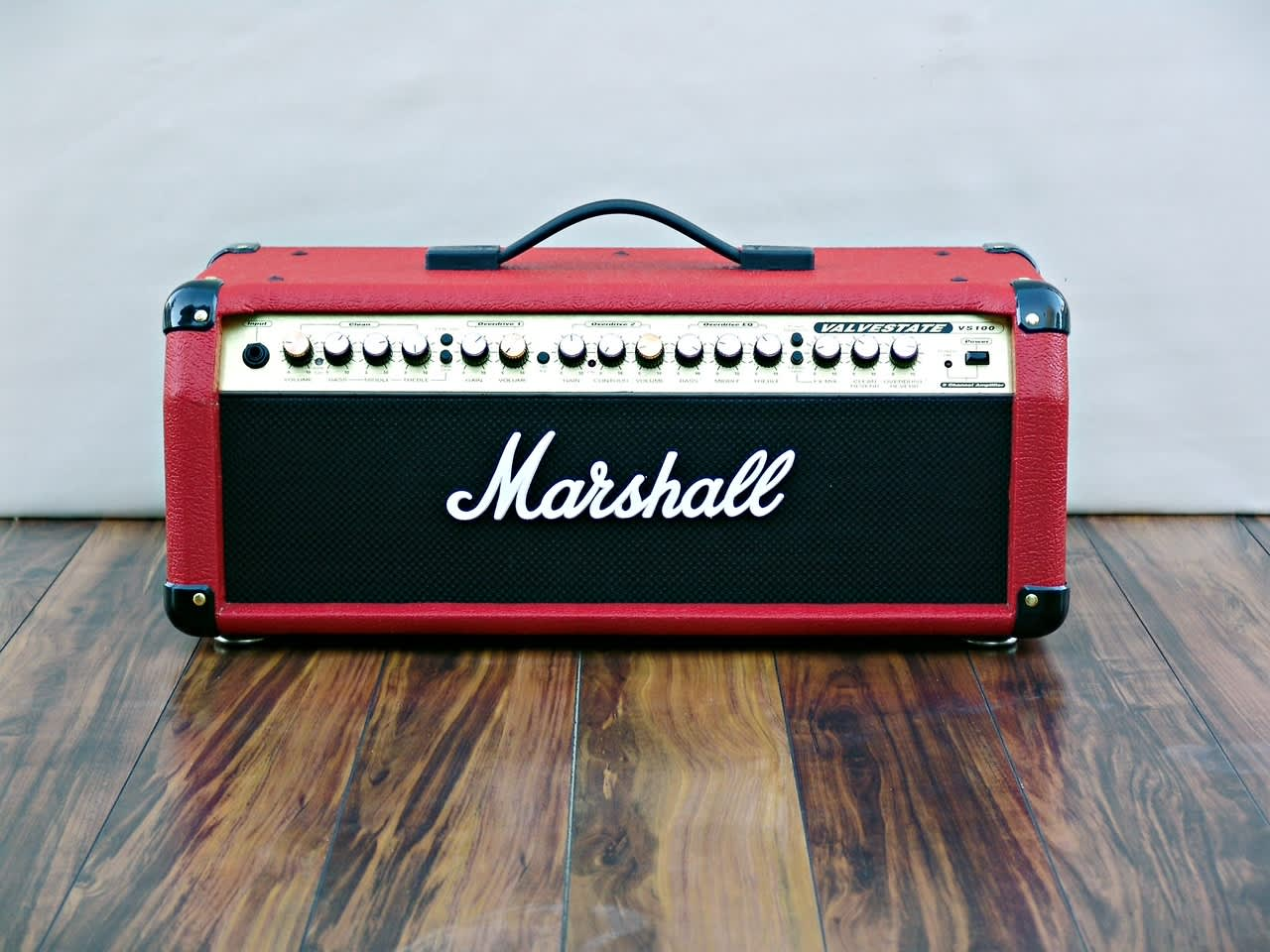 marshall valvestate vs 100 in red reverb. Black Bedroom Furniture Sets. Home Design Ideas