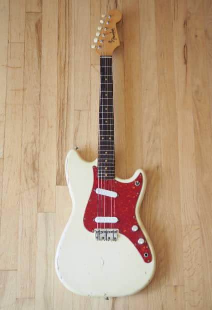 1963 Fender Duo Sonic Vintage Electric Guitar Pre-CBS ...