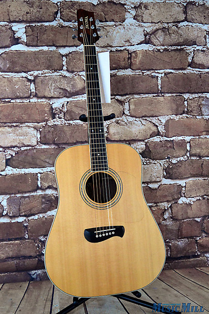 tacoma dr14 dreadnought acoustic guitar natural usa made reverb. Black Bedroom Furniture Sets. Home Design Ideas