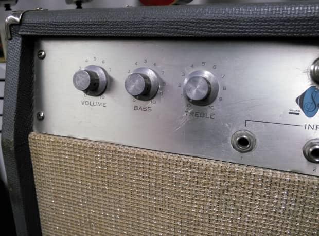 1960s Sound Electronics Corp Vintage Bass X 202 Tube Reverb