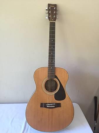 vintage yamaha fg 331 acoustic guitar reverb. Black Bedroom Furniture Sets. Home Design Ideas