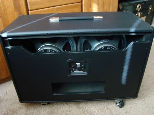 mesa boogie 3 4 back guitar amp cabinet w black shadow 2x12 reverb. Black Bedroom Furniture Sets. Home Design Ideas
