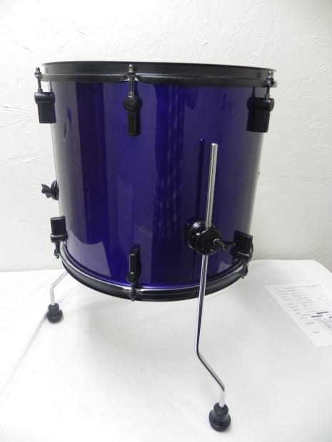Sonor special edition 16 x 14 floor tom iridescent blue for 16 x 14 floor tom