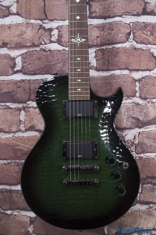ibanez art300 artist electric guitar caiman green reverb. Black Bedroom Furniture Sets. Home Design Ideas