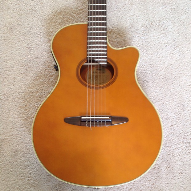 Yamaha apx 6na electric classic guitar nylon classical for Apx guitar yamaha