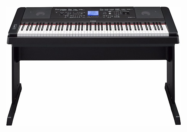 Yamaha dgx660b black digital piano 5 piece bundle reverb for Yamaha pa150 portable keyboard power adapter