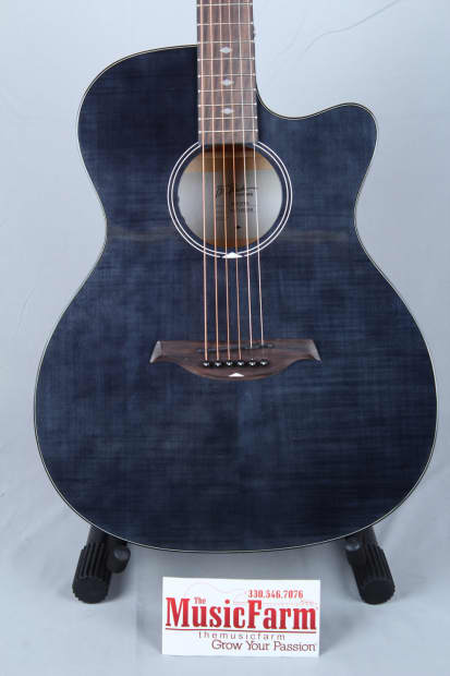 Bc Rich Bcr3 Series 3 Acoustic Electric Cutaway Guitar